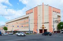 Εργοστάσιο Spartak, Gomel, Λευκορωσία βιομηχανιών ζαχαρωδών προϊόντων Στοκ φωτογραφίες με δικαίωμα ελεύθερης χρήσης