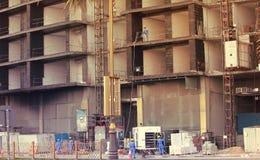 Εργοτάξιο κατασκευής, ΝΤΟΥΜΠΑΙ, Ε.Α.Ε. Στοκ Εικόνες