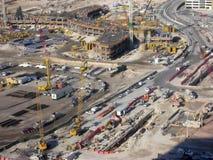 Εργοτάξιο οικοδομής ξενοδοχείων στοκ φωτογραφία
