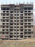 Εργοτάξιο οικοδομής σε Pune Ινδία στοκ εικόνες