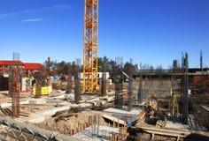 εργοτάξιο οικοδομής Στοκ Φωτογραφία