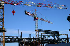 εργοτάξιο οικοδομής 2 στοκ εικόνα