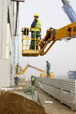 Εργοτάξιο οικοδομής στοκ φωτογραφία με δικαίωμα ελεύθερης χρήσης