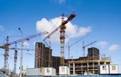 εργοτάξιο οικοδομής στοκ εικόνες με δικαίωμα ελεύθερης χρήσης