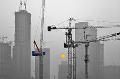 Εργοτάξιο οικοδομής ανατολής Στοκ εικόνες με δικαίωμα ελεύθερης χρήσης