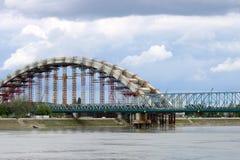 Εργοτάξιο οικοδομής γεφυρών Στοκ φωτογραφία με δικαίωμα ελεύθερης χρήσης