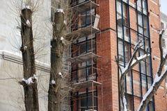 Εργοτάξιο οικοδομής, μέρος του σπιτιού Στοκ Φωτογραφίες