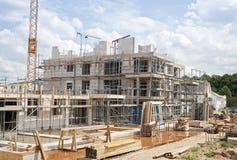 Εργοτάξιο οικοδομής, σπίτι Στοκ Εικόνα