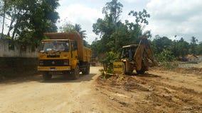 Εργοτάξιο οικοδομής στη Σρι Λάνκα Στοκ εικόνες με δικαίωμα ελεύθερης χρήσης
