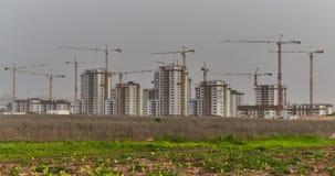 Εργοτάξιο οικοδομής στο Ισραήλ στοκ φωτογραφίες με δικαίωμα ελεύθερης χρήσης