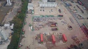 Εργοτάξιο οικοδομής στο Λονδίνο Στοκ Εικόνες