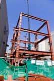 Εργοτάξιο οικοδομής στο Τόκιο Στοκ φωτογραφίες με δικαίωμα ελεύθερης χρήσης