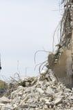 ερείπια κατεδάφισης Στοκ Εικόνες