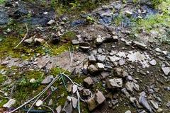 Ερείπια στο έδαφος στοκ φωτογραφία με δικαίωμα ελεύθερης χρήσης