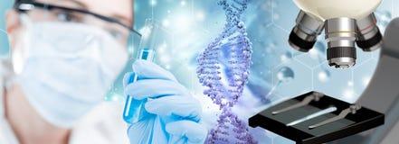 Ερευνητική έννοια βιοτεχνολογίας ελεύθερη απεικόνιση δικαιώματος
