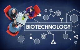 Ερευνητική έννοια πειράματος μορίων κυττάρων DNA βιοτεχνολογίας Στοκ φωτογραφίες με δικαίωμα ελεύθερης χρήσης