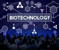 Ερευνητική έννοια πειράματος μορίων κυττάρων DNA βιοτεχνολογίας Στοκ Εικόνες