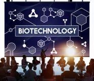 Ερευνητική έννοια πειράματος μορίων κυττάρων DNA βιοτεχνολογίας Στοκ φωτογραφία με δικαίωμα ελεύθερης χρήσης