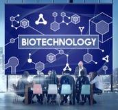 Ερευνητική έννοια πειράματος μορίων κυττάρων DNA βιοτεχνολογίας Στοκ εικόνες με δικαίωμα ελεύθερης χρήσης