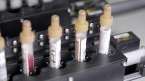 Ερευνητική ιατρική αίματος απόθεμα βίντεο