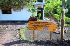 Ερευνητικός σταθμός του Charles Δαρβίνος στο νησί Santa Cruz σε Galapago στοκ φωτογραφία με δικαίωμα ελεύθερης χρήσης