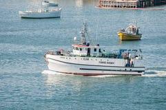 Ερευνητικό σκάφος αλιείας Στοκ Εικόνα