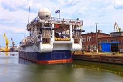 Ερευνητικό σκάφος στοκ φωτογραφίες