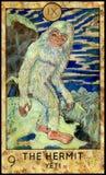 ερημίτης Yeti ή Bigfoot Στοκ Εικόνες