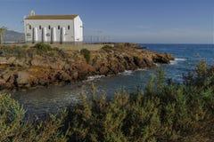 Ερημητήριο στην άκρη της θάλασσας στοκ φωτογραφία με δικαίωμα ελεύθερης χρήσης