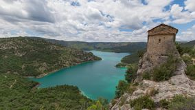 Ερημητήριο του Λα Pertusa, Lleida επαρχία, Ισπανία φιλμ μικρού μήκους