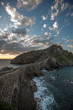 Ερημητήριο του San Juan de Gaztelugatxe, Euskadi Στοκ Φωτογραφίες