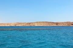 Ερυθρά Θάλασσα και νησί Tiran στην Αίγυπτο angthong εθνική όψη της Ταϊλάνδης θάλασσας πάρκων Στοκ φωτογραφία με δικαίωμα ελεύθερης χρήσης