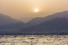 Ερυθρά Θάλασσα Ισραήλ Στοκ Εικόνες
