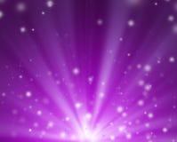 Ερυθρό υπόβαθρο ακτίνων και αστεριών σκοπευτών Στοκ εικόνα με δικαίωμα ελεύθερης χρήσης