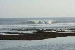 ερχόμενα κύματα Στοκ Φωτογραφίες
