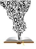 ερχόμενες λέξεις βιβλίων Στοκ φωτογραφία με δικαίωμα ελεύθερης χρήσης