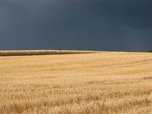 ερχόμενη θύελλα επάνω Στοκ Εικόνα