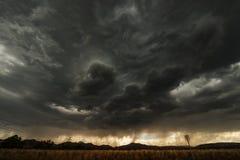 Ερχόμενη θύελλα Στοκ Εικόνα