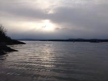 ερχόμενος ήλιος Στοκ Φωτογραφίες