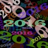 ερχόμενο νέο έτος Στοκ Εικόνα