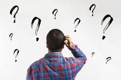 ερωτήσεις, γιατί; - επιχειρησιακή έννοια στοκ εικόνα με δικαίωμα ελεύθερης χρήσης