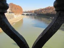 Ερωτευμένος με τη Ρώμη στοκ εικόνα