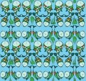 Ερωτευμένο σχέδιο ψαριών διανυσματική απεικόνιση