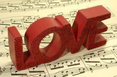 ερωτικό τραγούδι Στοκ εικόνα με δικαίωμα ελεύθερης χρήσης