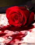 Ερωτικό τραγούδι στοκ εικόνες με δικαίωμα ελεύθερης χρήσης