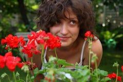 ερωτύλο κορίτσι Στοκ φωτογραφία με δικαίωμα ελεύθερης χρήσης
