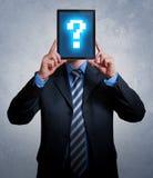 Ερώτηση επιχειρηματιών Στοκ φωτογραφία με δικαίωμα ελεύθερης χρήσης