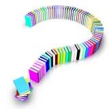 ερώτηση σημαδιών βιβλίων ελεύθερη απεικόνιση δικαιώματος