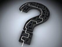 ερώτηση σημαδιών διανυσματική απεικόνιση