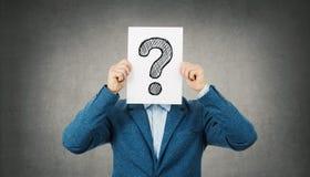 ερώτηση σημαδιών στοκ φωτογραφία με δικαίωμα ελεύθερης χρήσης